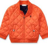 Ralph Lauren Boy Quilted Baseball Jacket