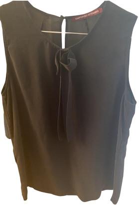 Comptoir des Cotonniers Black Silk Tops