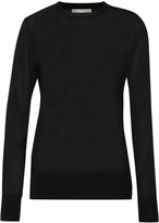 Jason Wu Lace-trimmed wool and silk-blend sweater