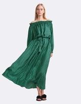 Cynthia Rowley Printed Silk Maxi Dress