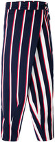 Henrik Vibskov Yuri Hairy stripe trousers
