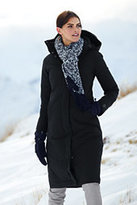 Lands' End Women's Petite Commuter Down Long Coat-Neptune Blue