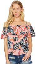 Billabong Summer Sunsets Woven Top Women's Clothing