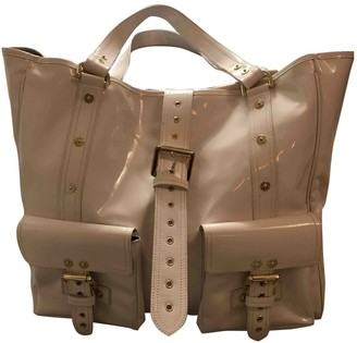 Mulberry Roxanne White Patent leather Handbags