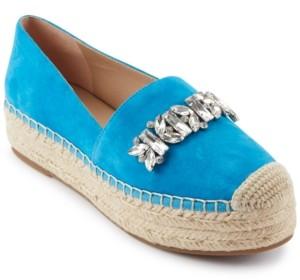 Karl Lagerfeld Paris Mari Espadrille Flats Women's Shoes