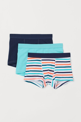 H&M 3-pack Boxer Shorts - Turquoise