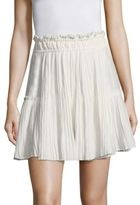Apiece Apart Palomitas Pleated Mini Skirt