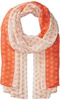 San Diego Hat Company BSS1697 Woven All Over Anchor Print Scarves