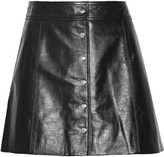 Etoile Isabel Marant Kais leather mini skirt