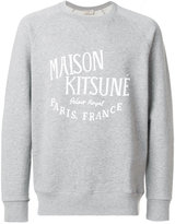 MAISON KITSUNÉ Palais Royal sweatshirt - men - Cotton - S