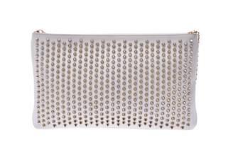 Christian Louboutin Loubiposh White Leather Handbags