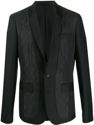 Les Hommes quilted blazer