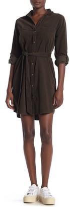Velvet Heart Anita Corduroy Belted Shirt Dress