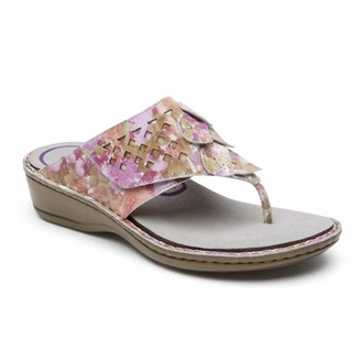 Aravon Women's Cambridge Thong Shoe