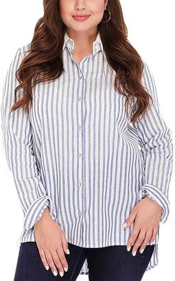 Peony Swimwear Plus Shirt