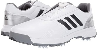 adidas CP Traxion Boa (Footwear White/Grey Six/Silver Metallic) Men's Golf Shoes