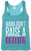 Urban Smalls Heather Aqua 'Mama Didn't Raise' Racerback Tank - Toddler & Girls