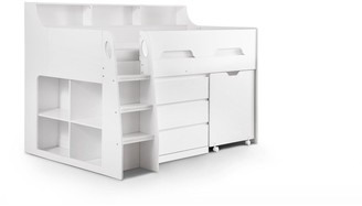 Julian Bowen NoahMidsleeperwith 3 Drawer Chest, Shelving and Desk