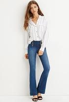 Forever 21 Matelot Flare Jeans