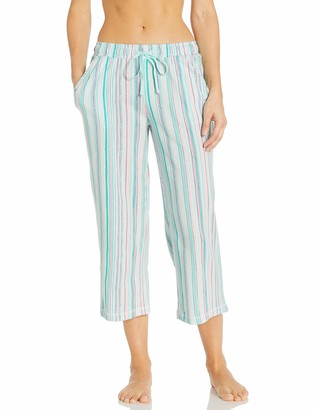 Karen Neuburger Women's Pajamas Cropped Capri Pj Pant