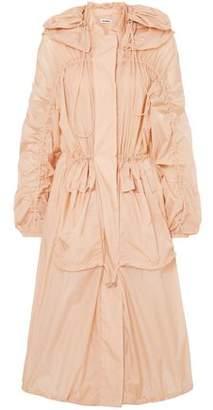 Jil Sander Oversized Hooded Shell Jacket