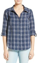 Joie Women's Cartel Plaid Cotton Shirt