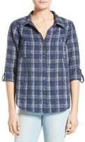 Joie Women's Cartel Plaid Cotton Shirt