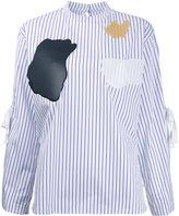 Toga patch work shirt - women - Cotton - 36