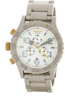 Nixon Men&s 42-20 Chrono Bracelet Watch