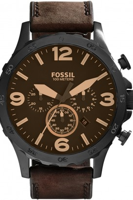 Fossil Mens Nate Chronograph Watch JR1487