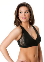 Motherhood Lace Trimmed Nursing Sleep Bra