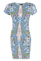 Select Fashion Fashion Womens Multi Tribal Dream Mini Dress - size 8