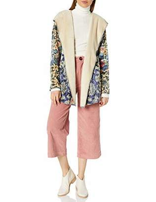 Pete & Greta by Johnny Was Women's Printed Sherpa Hoodie