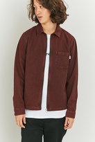 Shore Leave By Urban Outfitters Blake Berry Zip-through Overshirt