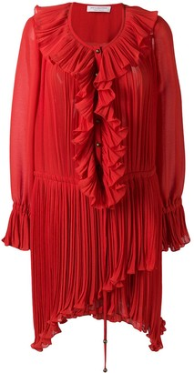 Philosophy di Lorenzo Serafini Ruffle Short Dress