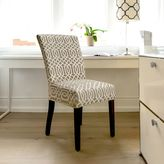 FurnitureSkinsTM Abbey Stretch Dining Chair Slipcover in Biscuit