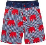 Andy & Evan Snorkle Dog Swimsuit (Toddler Boys)