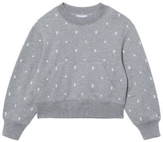 Burberry Kids Star And Monogram Sweatshirt (3-14 Years)