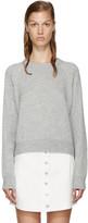 Alexander Wang Grey Crewneck Sweater