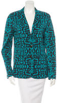Lanvin Fitted Panther Print Blazer w/ Tags