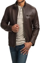 Cole Haan Smooth Lambskin Moto Jacket (For Men)