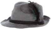 Hollywood Trading Company Htc feather fedora hat
