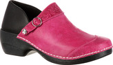 Women's 4EurSole Western Embellished Leather Clog RKYH035