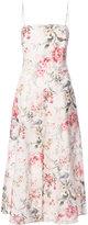 Zimmermann floral print midi dress - women - Silk - 1
