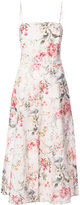 Zimmermann floral print midi dress - women - Silk - 2