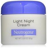 Neutrogena Light Night Cream, 2.25 Oz