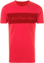 Calvin Klein Jeans slogan print T-shirt