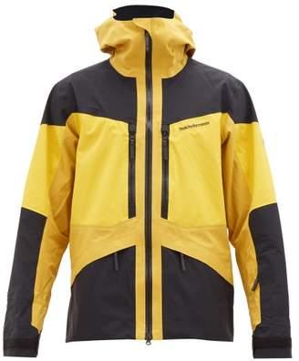 Peak Performance Gravity Technical Ski Jacket - Mens - Yellow Multi