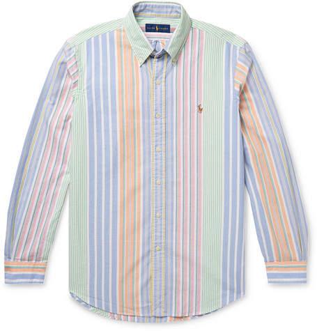 3d14f3ea76e Mens Ralph Lauren Button Down Striped Shirt - ShopStyle