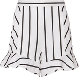 Exclusive for Intermix Lola Striped Linen Shorts